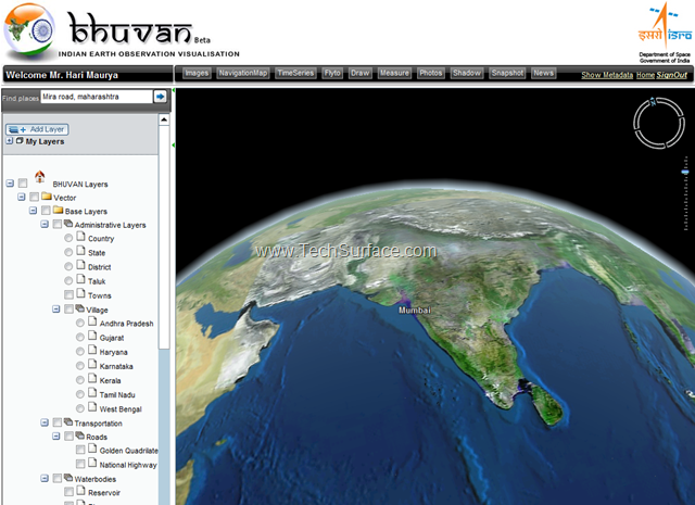 Satellite images download bhuvan