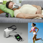 Keep Breathing to power up your smartphone using AIRE MASK
