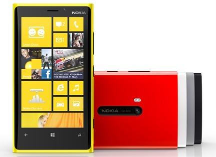 Nokia Lumia 920, 820