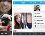 Skype added full screen support for iPhone 5 devices