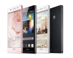 HUAWEI introduces worlds slimmest smartphone, Ascend P6