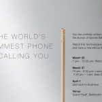 World's slimmest smartphone, The Gionee Elife S5.5, to launch in India on 31st March
