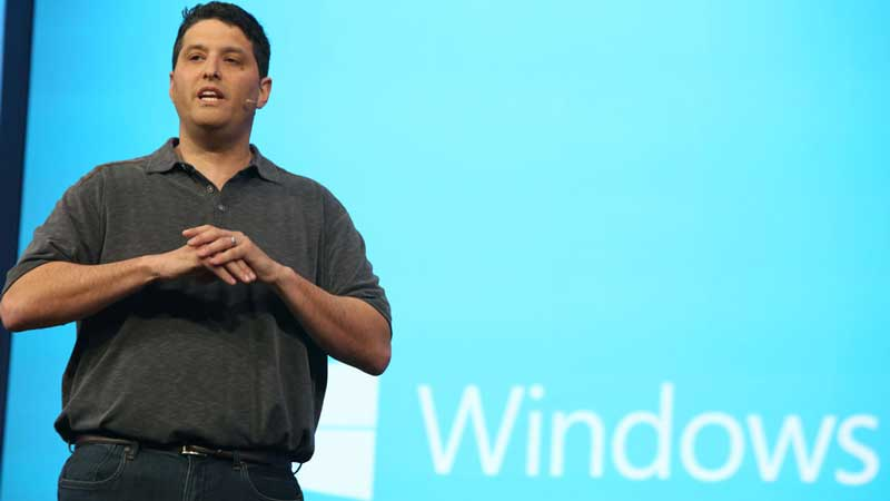 Terry Myerson at build Conference 2014