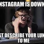 Instagram Down!