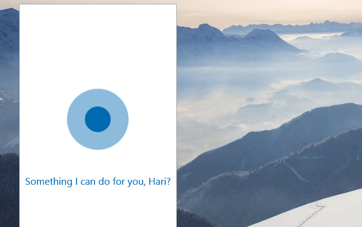 Cortana comes to PC and Tablet